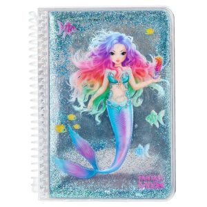 Fantasy Top Model Blue Mermaid Notebook - Depesche