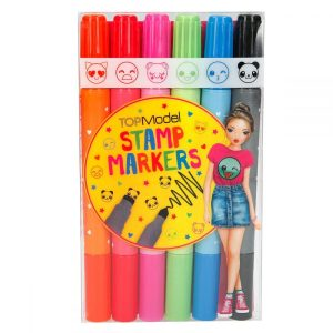 Top Model Stamp Markers - Depesche