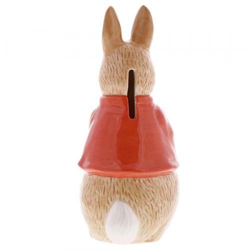 Flopsy Bunny Sculpted Money Bank - Beatrix Potter