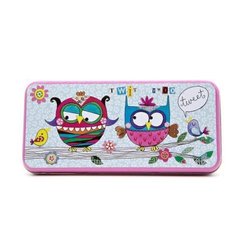 Owl Pencil Tin - Rachel Ellen Designs