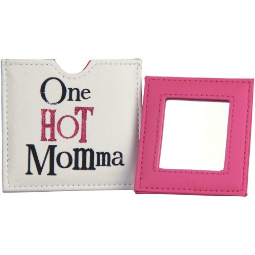 One Hot Momma Compact Mirror - The Bright Side