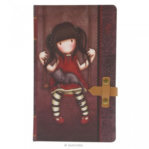 Ruby Large Journal With Leather Strap