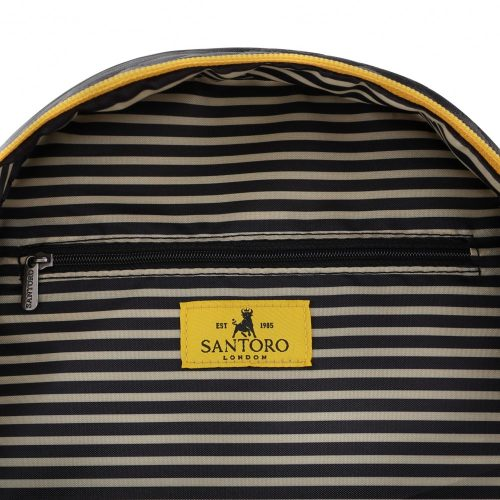 Santoro Gorjuss Tartan Mini Rucksack - Ruby (Yellow)