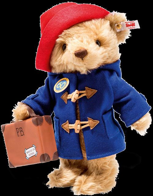 Steiff Paddington Bear 60th Anniversary - EAN 690495