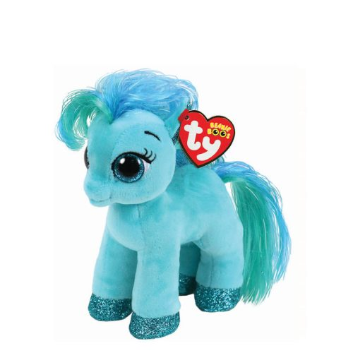 Ty Beanie Boo Small Topaz the Teal Pony Soft Toy