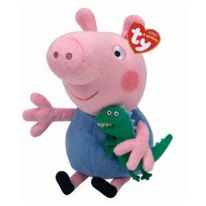 Peppa Pig George Beanie Baby 15 cm - TY