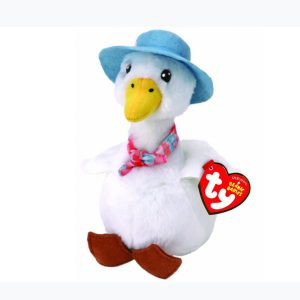 Jemima Puddle Duck Soft Toy TY Beanie – Peter Rabbit The Movie