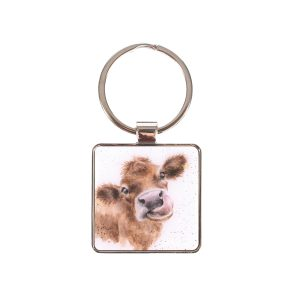 Moooo Cow Keyring – Wrendale Designs