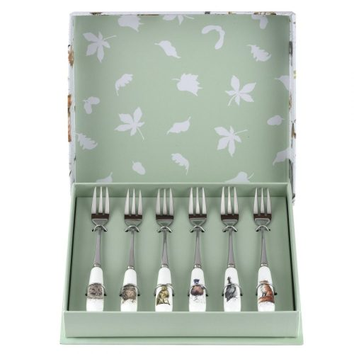 Wrendale Designs Set of 6 Pastry Forks