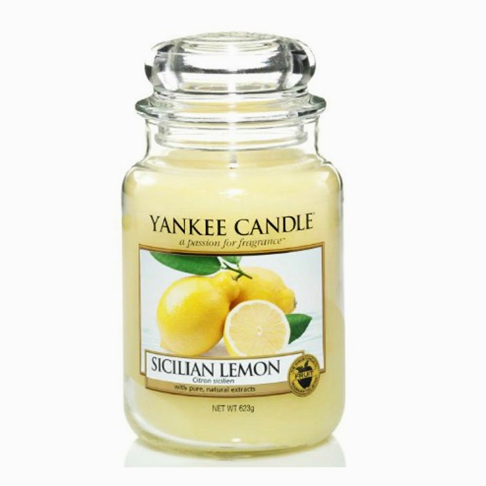 Sicilian Lemon - Yankee Candle - Large Jar