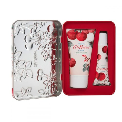 Cath Kidston - Cherry Sprig Hand and Lip Tin