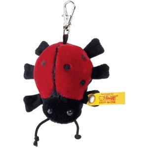 Steiff Plush Ladybird Keyring - EAN 112379
