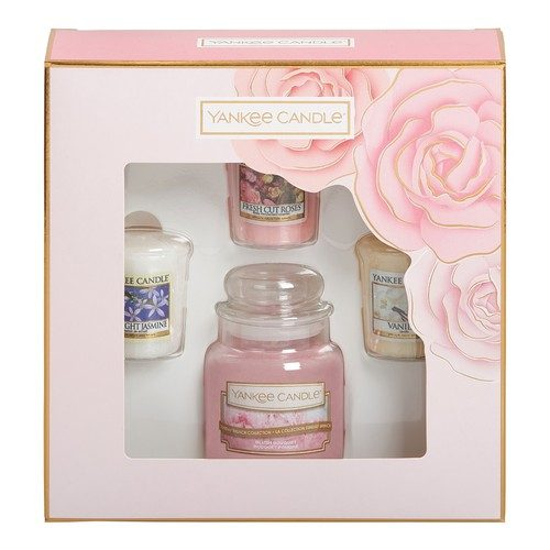 Yankee Candle Small Jar Candle & 3 Votive Gift Set - Spring Summer 2019