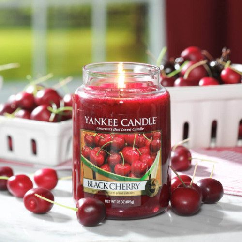 Black Cherry - Yankee Candle - Large Jar