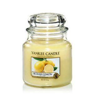 Sicilian Lemon - Yankee Candle - Medium Jar