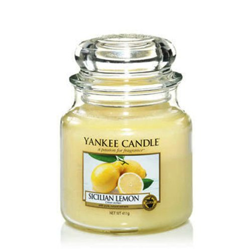 Sicilian Lemon - Yankee Candle - Medium Jar