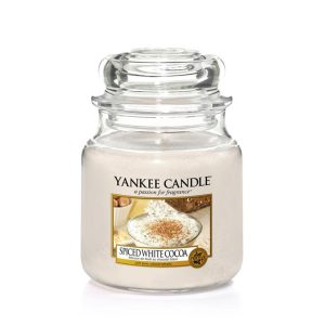 Spiced White Cocoa - Yankee Candle - Medium Jar