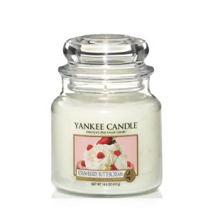 Strawberry Buttercream - Yankee Candle - Medium Jar