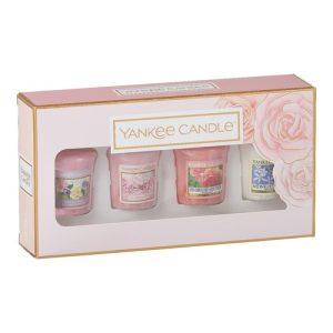 Yankee Candle 4 Votive Candle Gift Set - Spring Summer 2019