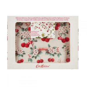 Cath Kidston - Cherry Sprig Mini Pamper Time Beauty Bag Gift Set