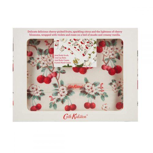 Cath Kidston - Cherry Sprig Mini Pamper Time Beauty Bag Gift Set