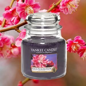 Black Plum Blossom - Yankee Candle - Medium Jar