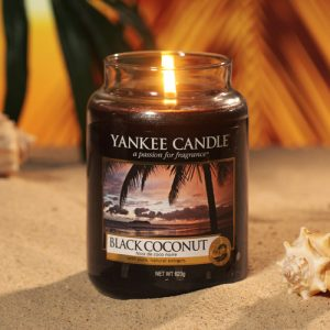 Black Coconut - Yankee Candle - Large Jar
