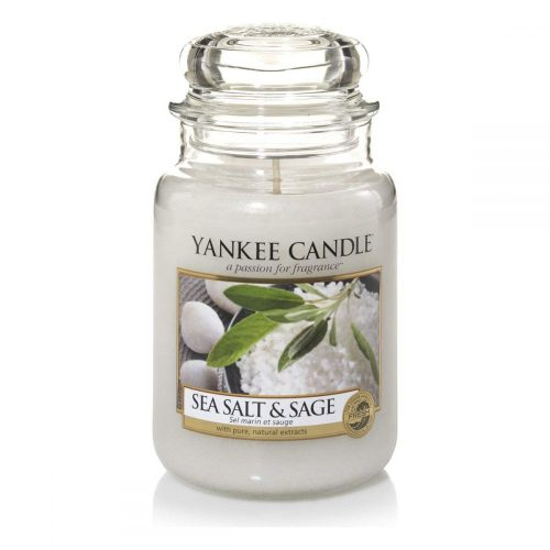 Sea Salt and Sage - Yankee Candle - Large Jar