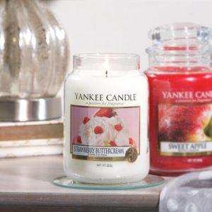 Strawberry Buttercream - Yankee Candle - Large Jar