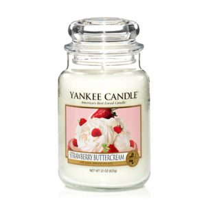 Strawberry Buttercream - Yankee Candle - Large Jar