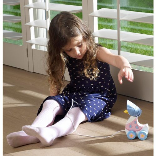 Jemima Puddle-Duck Wooden Pull Along - Orange Tree Toys