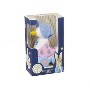 Jemima Puddle-Duck Wooden Pull Along - Orange Tree Toys