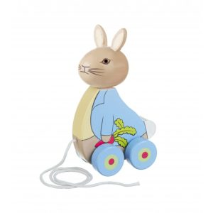 Peter Rabbit Wooden Pull Along – Orange Tree Toys