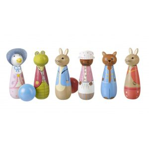 Peter Rabbit Wooden Skittles - Orange Tree Toys