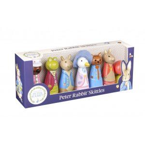 Peter Rabbit Wooden Skittles - Orange Tree Toys