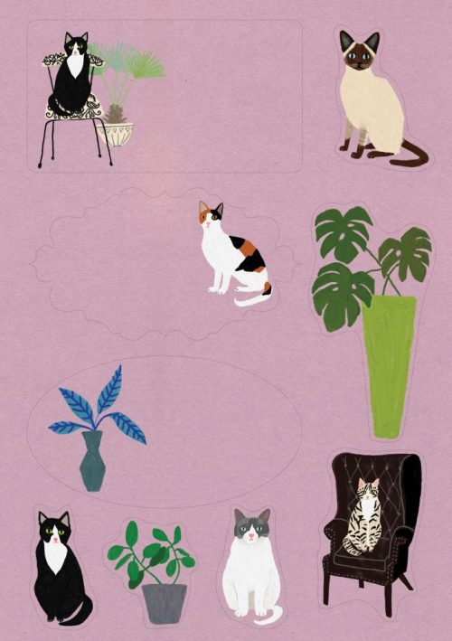 Cat Palais Letter Writing Set - Roger La Borde