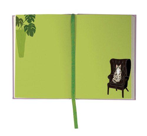 Cat Palais Illustrated Journal - Roger La Borde