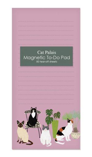 Cat Palais Magnetic Notepad- Roger La Borde