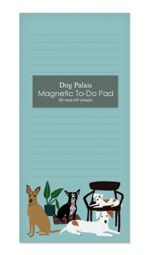 Dog Palais Magnetic Notepad- Roger La Borde