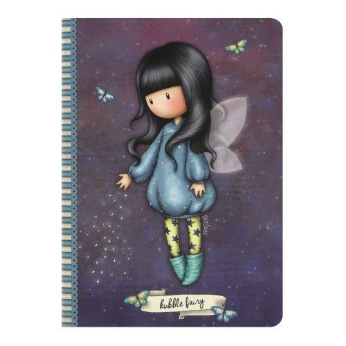 Santoro Gorjuss A5 Stitched Notebook Bubble Fairy
