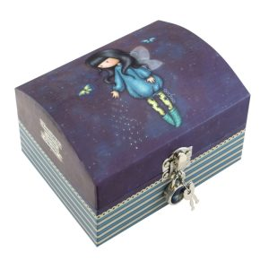 Santoro Gorjuss Bubble Fairy Lockable Trinket Box