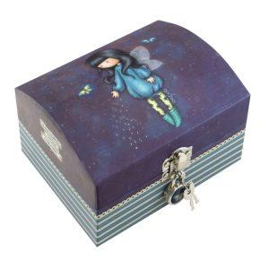 Santoro Gorjuss Bubble Fairy Lockable Trinket Box