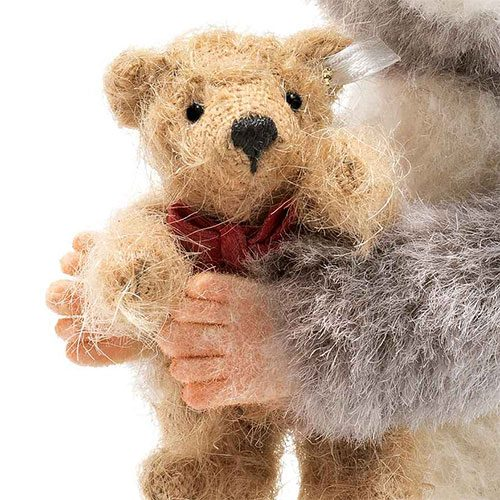 Steiff Maggy Mouse With Teddy Bear - Limited Edition EAN 006395