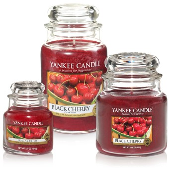 Black Cherry - Yankee Candle - Small Jar, 104g