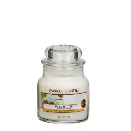 Shea Butter - Yankee Candle - Small Jar, 104g