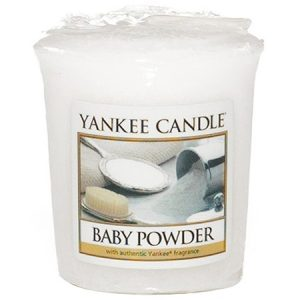 Baby Powder - Yankee Candle - Sampler Votive Candle, 49g