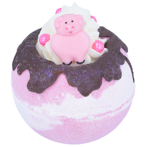Piggy In The Middle Bath Bomb, 160g – Bomb Cosmetics