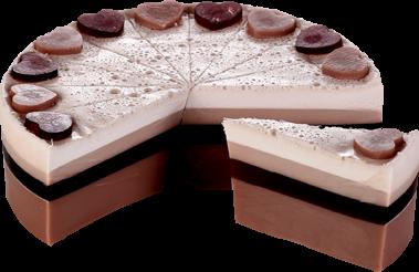 Chocolate Heaven Soap Cake Slice - Bomb Cosmetics