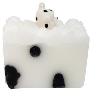 Puppy Love Soap with Toy Dog - Bomb Cosmetics