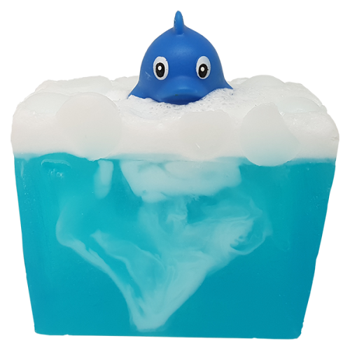 Wave Rider Soap with Toy Dolphin - Bomb Cosmetics